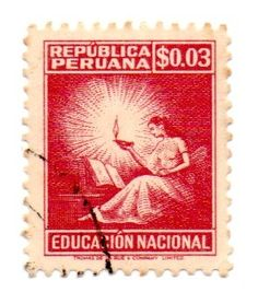 Peru Stamp 1965 - EDUCACION NACIONAL