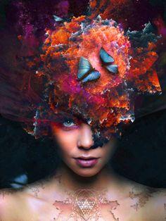 Blackness Beauty / Fotolia TEN Collection Contest by Dariusz Raczkiewicz, via Behance