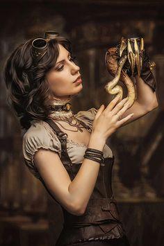Steampunk Tendencies - Model : Eva Sirine