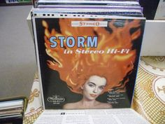 STORM In Stereo Hi Fi vinyl LP Westminster Records VG+ cheesecake