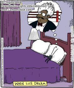 When lice dream.  Hilburn, Scott