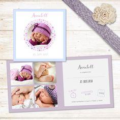 Augenblick | Klappkarte zur Geburt, quadratisch #babykarte #geburtsanzeige #kartegeburt #papeterie #baby #newborn