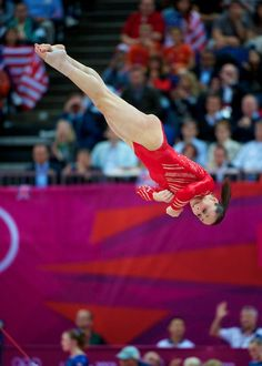 Jordyn Wieber on floor during team final! Love this picture!