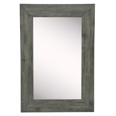 American Made Rayne Grey Barnwood Mirror Silver Wall Mirror, Wall Mirrors, Old Picture Frames, Mdf Frame, Floor Mirror, 5 W, Wooden Walls, Grey Walls, Home Decor Outlet