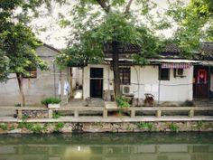 Pingjiang Ancient Street in Suzhou,China