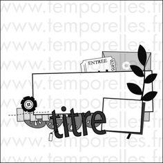 Coconut – Combo Scrap atelier # Multi-contraintes et inspi' photo Scrap ou Café # Sketch sur l'Atelier à scrap