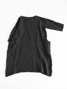 linen drop pocket tunic