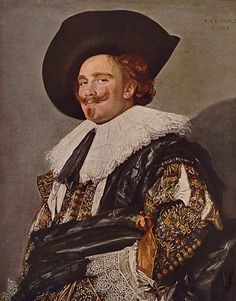 3. Frans Hals, 1580-1666 The Laughing Cavalier        The seminal painting style known for centuries as alla prima or premier coup virtually originated with Frans Hals, and he carried it to heights unexceeded in the four hundred years since. In a small reproduction, this painting can look almost photographic in its realism. However, contact with the dazzling original reveals a bravura touch that has never been equalled.