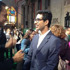 Suraj Sharma (Rinku Singh) on the