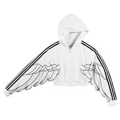 Jeremy Scott for adidas Originals Fall 2010 Collection |... ❤ liked on Polyvore featuring jackets, jeremy scott, outerwear and adidas