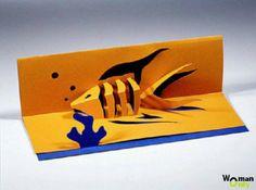 Открытки киригами для начинающих — схемы и шаблоны
