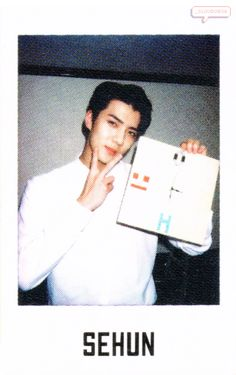 Sehun - 160801 Official EXO-L Japan Book Vol.4 - [SCAN][HQ] Credit: _Cloud0506. Exo Ot9, Exo Chen, Chanyeol, Exo Music, Polaroid Photos, Polaroids, Exo Members, How Big Is Baby, My Youth