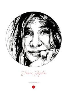 Janis Joplin Drawing,Singer face drawing,Wall Art Print Poster,Janis Joplin, musicians BLACK and WHITE Janis Joplin Wall Art Decor, Wall Art Prints, Janis Joplin, Music Icon, How To Draw Hands, Singer, Black And White, Portrait, Drawings