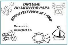 """Résultat de recherche d'images pour """"fête des pères bricolage maternelle"""""""