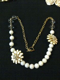Flower and beads
