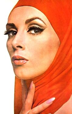 Wilhelmina by Irving Penn, 1964 #headscarf My Mothers name was Wilhelmine not seen very often..