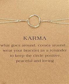 Karma Bracelet - GIRLFRIEND GIFTS FOR FEBRUARY BIRTHDAYS http://girlfriendology.com/girlfriend-gifts-for-february-birthdays/