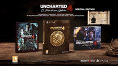 Uncharted 4: O Fim de um Ladrão Edição Especial PS4. Comprar jogos online na Fnac.pt
