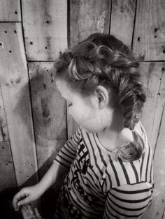 Braid on kids, fishtail braid