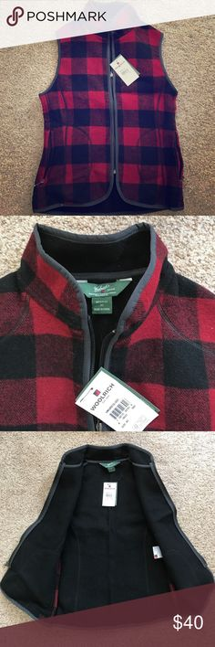 NWT Woolrich buffalo plaid vest Woolrich buffalo plaid vest. NWT! Size XS. Too small for me and it hasn't been back in stock otherwise I wouldn't be selling. Woolrich Jackets & Coats Vests