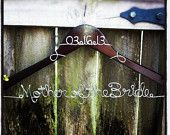 Wedding Hanger Photograph - mother of the bride present!