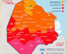 Mapa de entrega