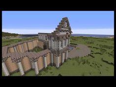 Minecraft Timelapse - Fantasy Town - Townhall - YouTube