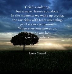 Grief is isolating ...  i never have this so meaningful until i met you ..but also because you are there for me... the other meaning of confession