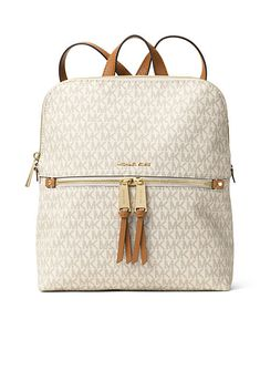 MICHAEL Michael Kors Rhea Zip Medium Slim Backpack
