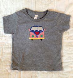 Colorful VW Applique tees