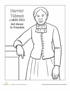 Black History Month Coloring Pages | Holiday Coloring Pages | Black ...