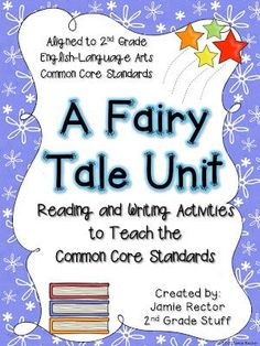 A fairy tale unit from Grade Stuff Tall Tales Activities, Fairy Tale Activities, Writing Activities, 2nd Grade Ela, 2nd Grade Writing, 2nd Grade Reading, Grade 2, Second Grade, Fairy Tale Projects