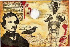 By MrsSawbones, Halloween Mail Art
