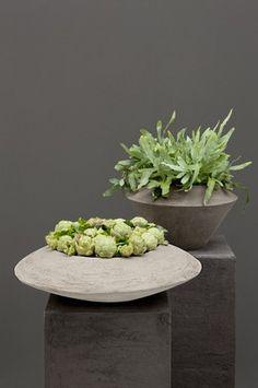 Flower arrangement - pots by Atelier Vierkant | WINKS - desire to inspire - desiretoinspire.net