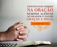 Salmos, Provérbios, Pensamentos, Frases: continuem-firmes