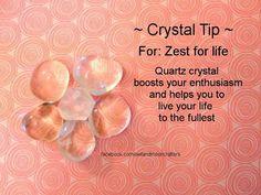 Quartz Crystal Tip