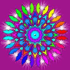 Mandalas: cómo dibujarlos paso a paso - ARTE TERAPIA CON MANDALAS - LAURA PODIO Craft Organization, Organizing Crafts, Mandala Art Lesson, Geometric Designs, Paper Flowers, Art Drawings, Lettering, Wall Art, Create