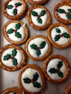 Christmas pretzels :)