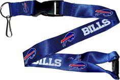 Buffalo Bills Lanyard Keychain - Sunset Key Chains