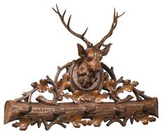 THE WELL APPOINTED HOUSE - Luxury Home Decor- Royal Stag Coat Hook - Office Accessories - Decorative