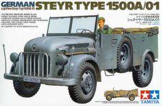 Tamiya German Steyr Type 1500A/01 1/35th Scale Plastic Model | Hobbies