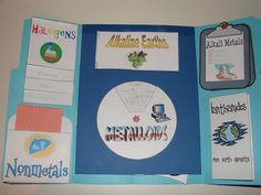 Periodic Table lapbook for CC Cycle 3