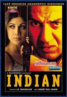 Indian (hindi) Hindi Movie Online - Sunny Deol, Shilpa Shetty, Rahul Dev and Mukesh Rishi. Directed by N. Maharajan. Music by Anand Raj Anand. 2001 Indian (hindi) Tamil Movie Online.