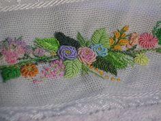 Artesanato Graça: bordado em rococó