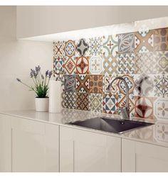 Marockanskt - Kakelmonster | Gracia Multicolor 45x45