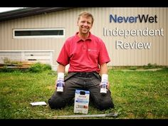 Rust-Oleum NeverWet Never Wet independent review - YouTube