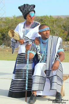 Best Traditional Wedding Dresses Xhosa In South Africa 2019 - T African Wedding Attire, African Attire, African Wear, African Women, African Dress, African Weddings, African Style, African Beauty, South African Traditional Dresses