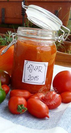 Ajvar Vegetables, Food, Essen, Vegetable Recipes, Meals, Yemek, Veggies, Eten