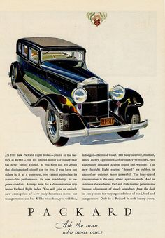 ◆1932 Packard Brochure◆