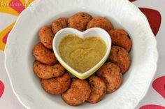 PANELATERAPIA - Blog de Culinária, Gastronomia e Receitas: Bolinho Assado de Batata com Linguiça